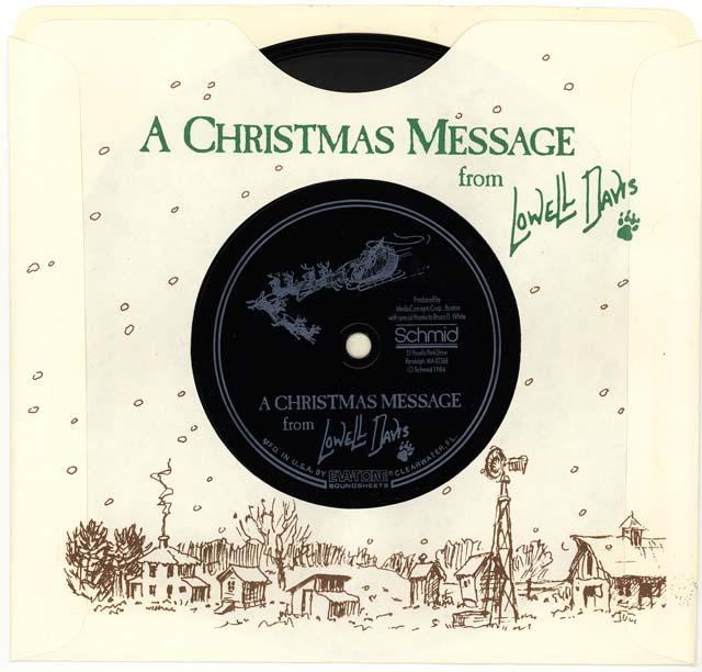 Redoakiimissouri Com Lowell Davis Christmas Greetings A